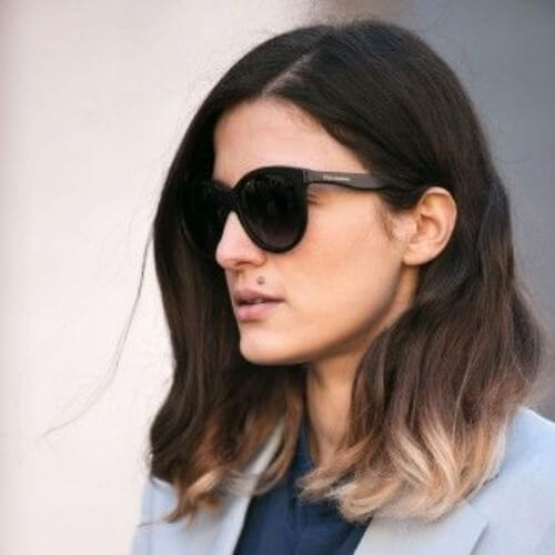 fall short ombre hair