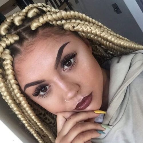 50 Braid Hairstyles With Weave For The Creative And