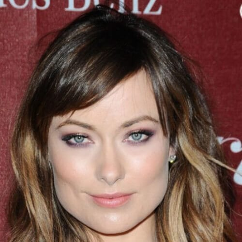 olivia wilde short ombre hair