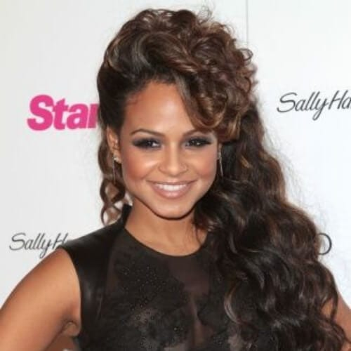 Christina Milian Curly Hairstyles