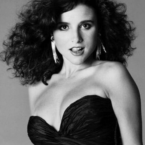 Julia Louis-Dreyfus curly hairstyles