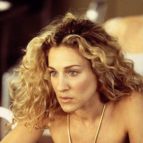 Sarah Jessica Parker curly hairstyles