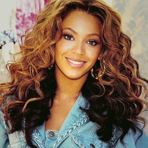 beyonce curly hairstyles