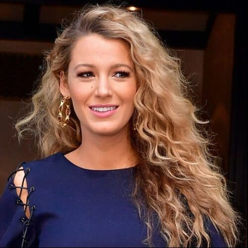 blake lively curly hairstyles