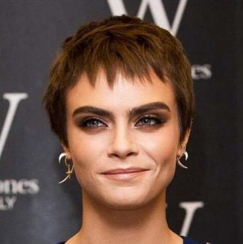 cara pixie haircut