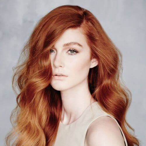 ginger red ombre hair