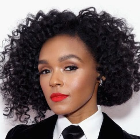 janelle monae curly hairstyles