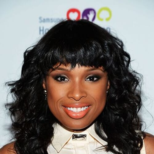 jennifer hudson curly hairstyles