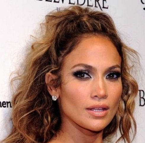jennifer lopez curly hairstyles