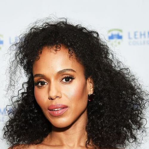 keri washington curly hairstyles