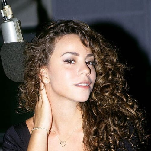 mariah carey curly hairstyles