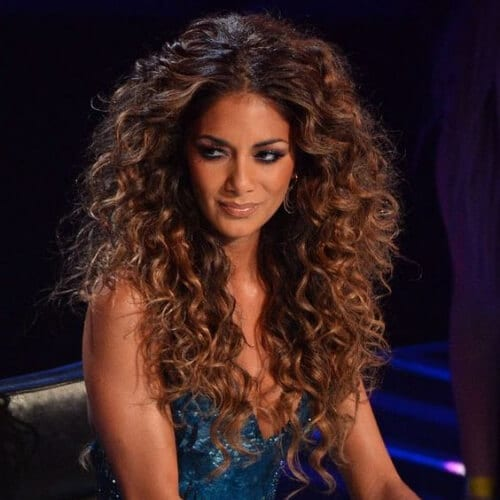 nicole curly hairstyles