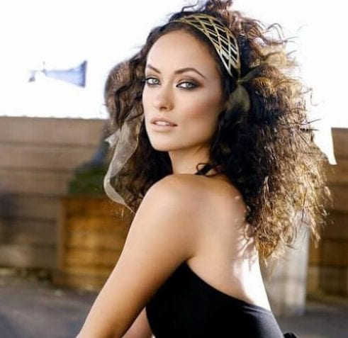 olivia wilde curly hairstyles
