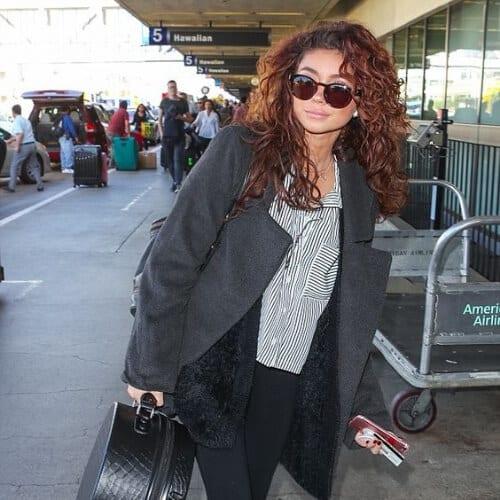 sarah hyland curly hairstyles
