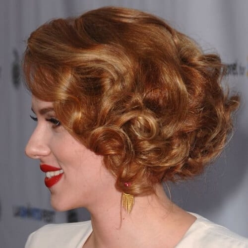 scarlet johansson curly hairstyles