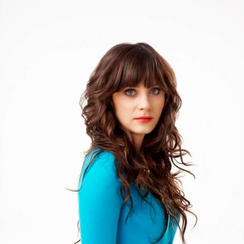 zooey updos for long hair