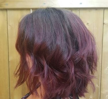 ombre style sideview