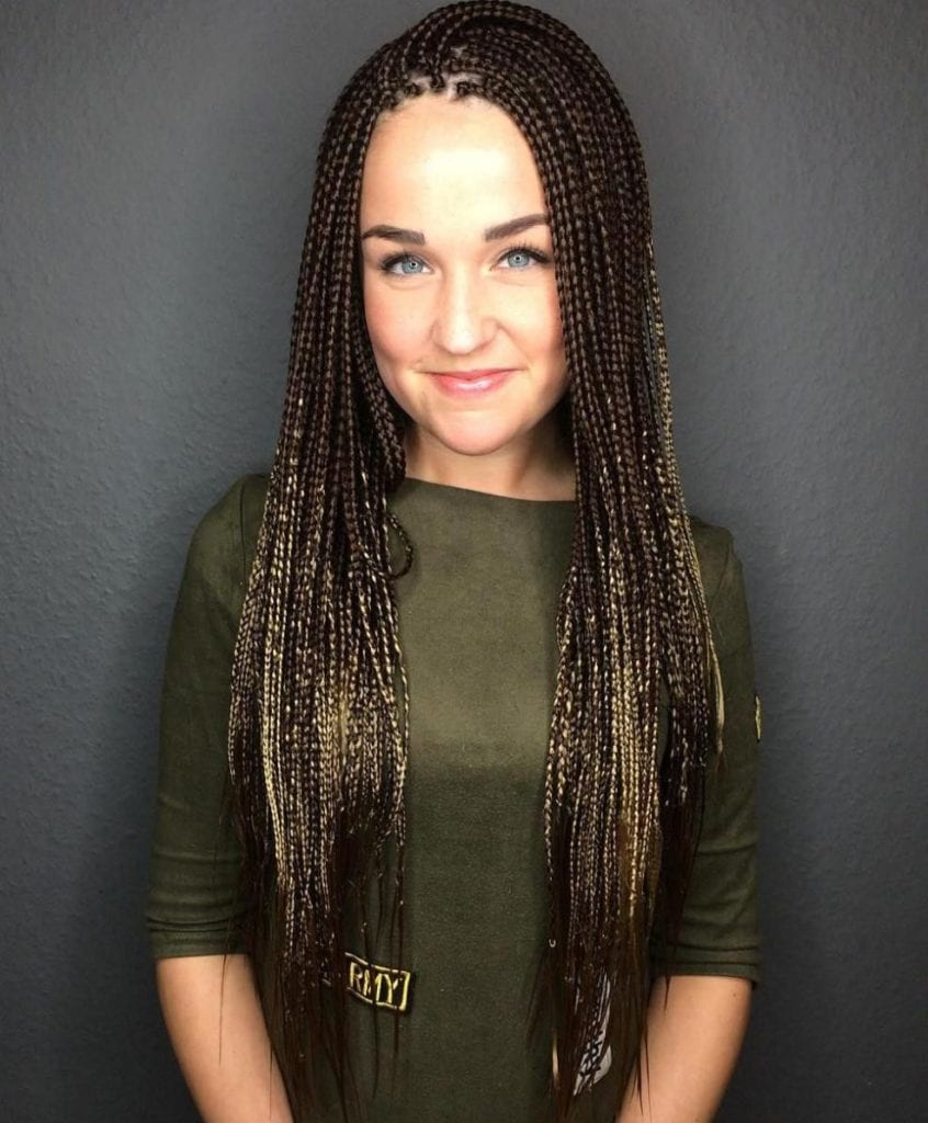 Layered Micro Braids