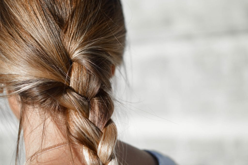 Woman Pretty Braid