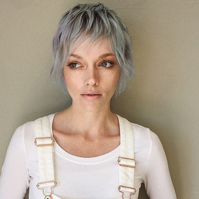 Pixie Cut  hairstyles for oval faces