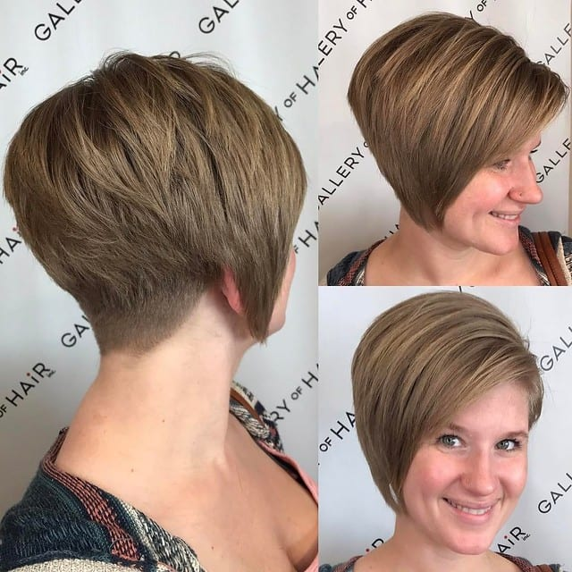 Side Swept Look hairstyles for oval faces