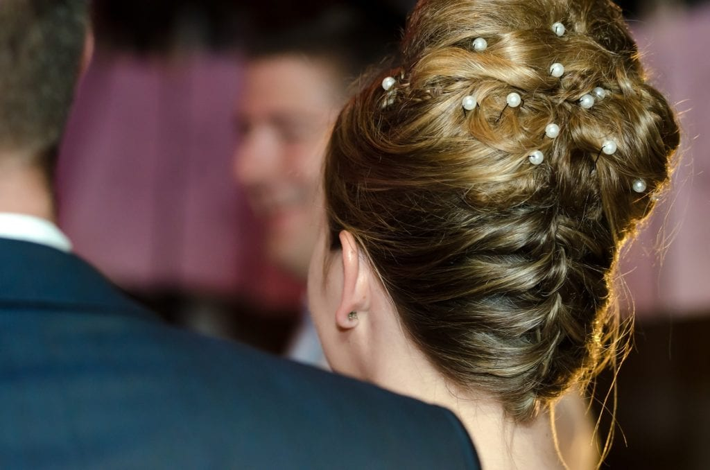 Wedding Updo Hair bun