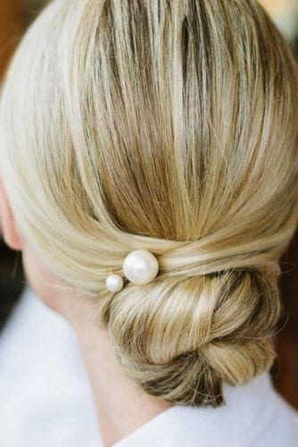 Mother of the Bride Updos with Pearls