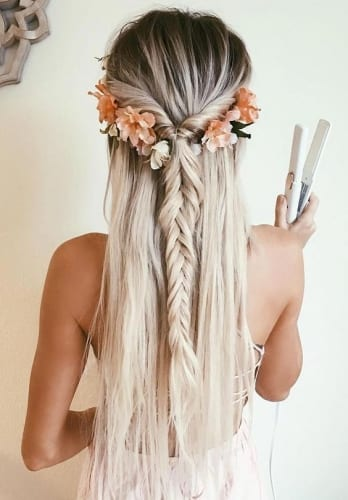 Flower Crown Braid