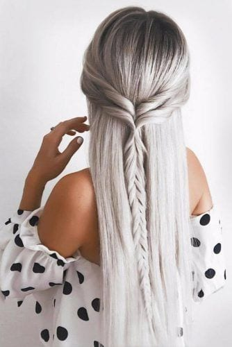 double crown braid hairstyles for long hair