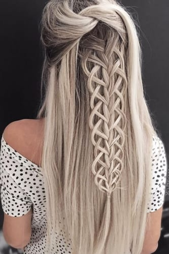 weave braid hairstyles for long hair